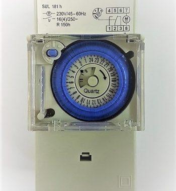 שעון שבת יומי מכני ללוח חשמל